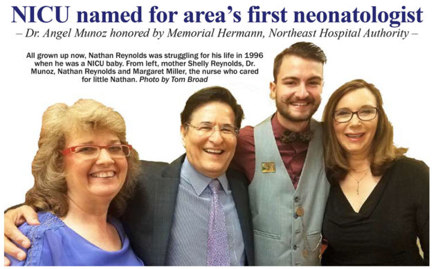 NICU named for area's first neonatologist – WeeKare Pediatrics